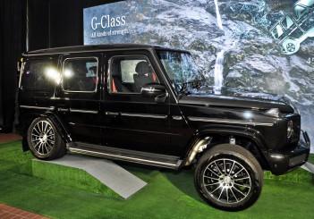 Mercedes-Benz G 350 d - 01