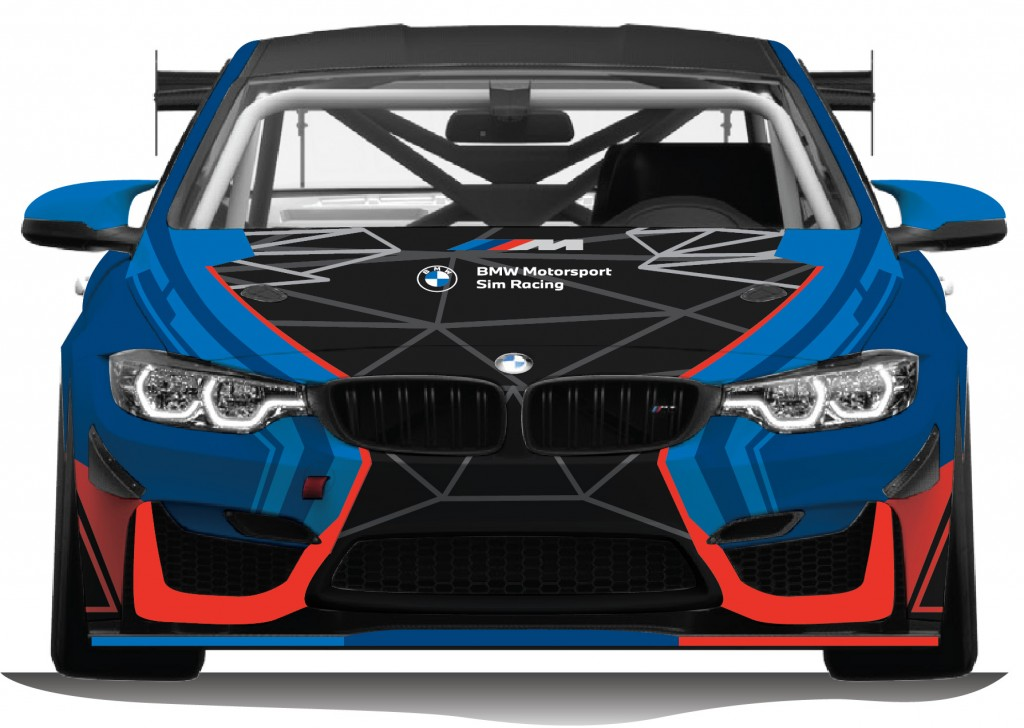 BMW M4 GT4 Front View