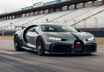 Bugatti Chiron Pur Sport at Hockenheimring - 06 Jet Grey