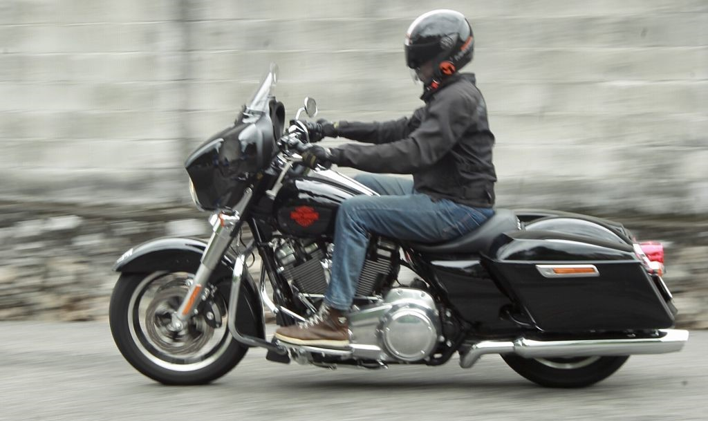 Harley-Davidson Glide motorcycle. - NORAFIFI EHSAN / The Star