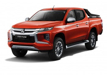 Mitsubishi Triton Adventure X - Sun-flare Orange Pearl