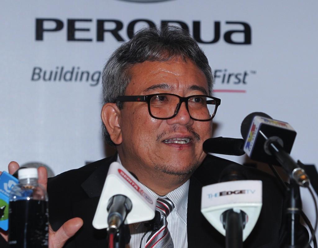 Perodua President & CEO Dato' Zainal Abidin Ahmad 2