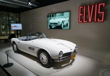 Elvis Presley's BMW 507